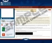 United States Courts virus